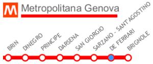 linea metro-genova